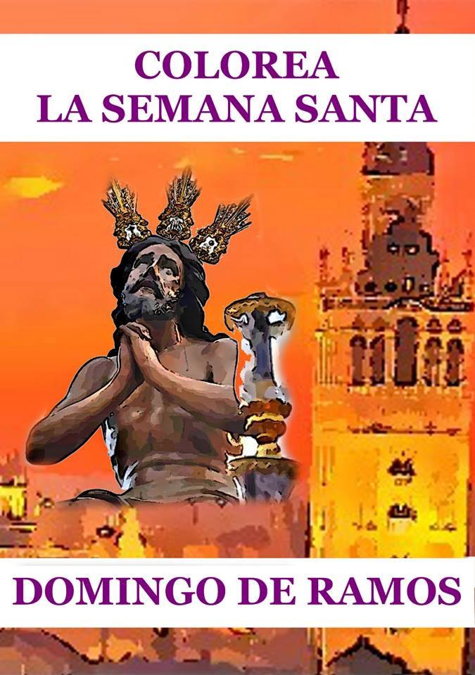 Colorea la Semana Santa de Sevilla