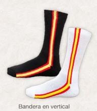 Calcetines con bandera de España